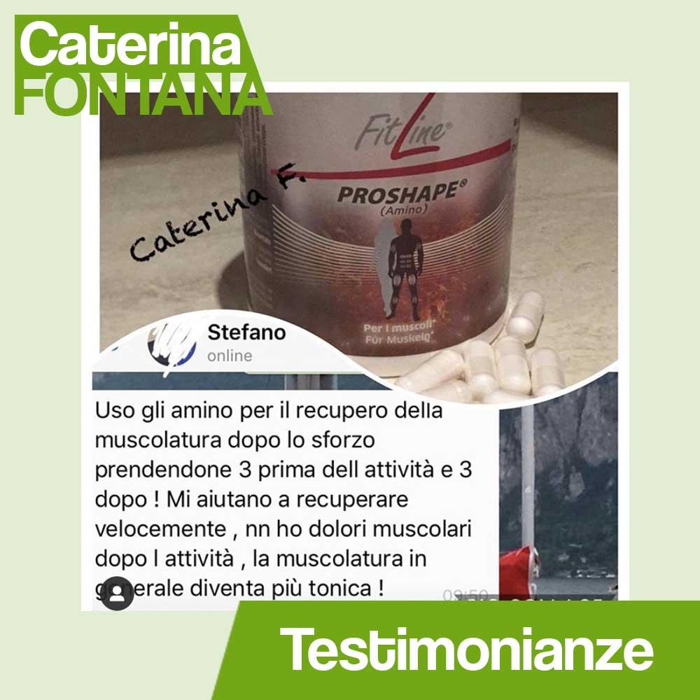 Testimonianza Fitline5